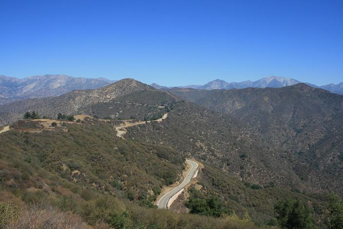 View from the top of the Upper Colby Trail