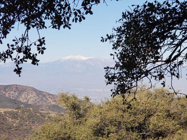View from KSOX Doppler radar tower, Santa Ana Mountains, CA