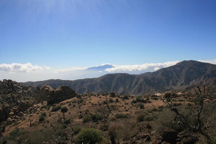 San Jacinto as seen from Chaparossa Peak