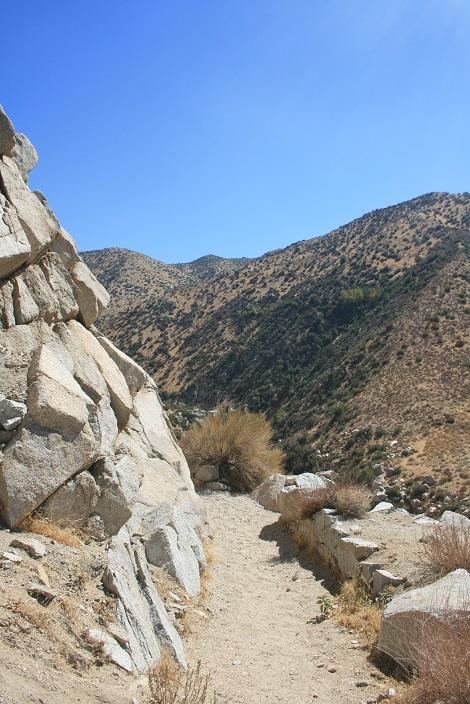 View from the Pacific Crest Trail en route to Deep Creek