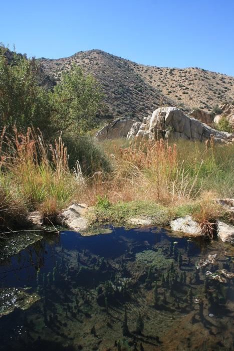 Upper pool, Deep Creek Hot Springs
