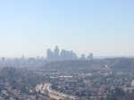 0:24 - Downtown L.A. skyline before the first descent
