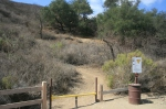 0:00 - Trail head from the parking area (click thumbnails to see the full sized versions)