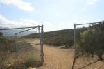 1:00 - Beginning of the Vista Del Mar trail