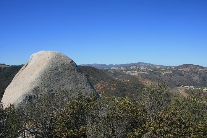View from the upper end of the Wiashal Trail