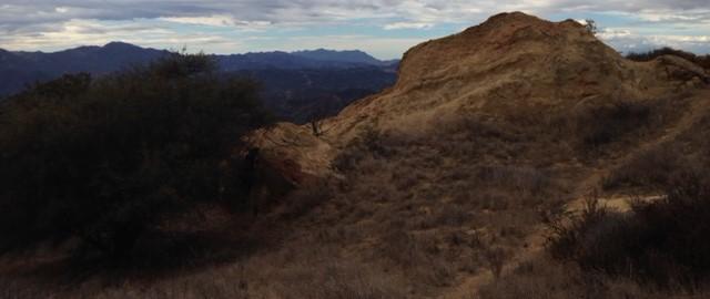 Geology on the Calabasas Peak Motorway