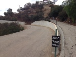 0:00 - Start of the hike, Old Topanga Canyon Road (click thumbnails to see the full sized versions)