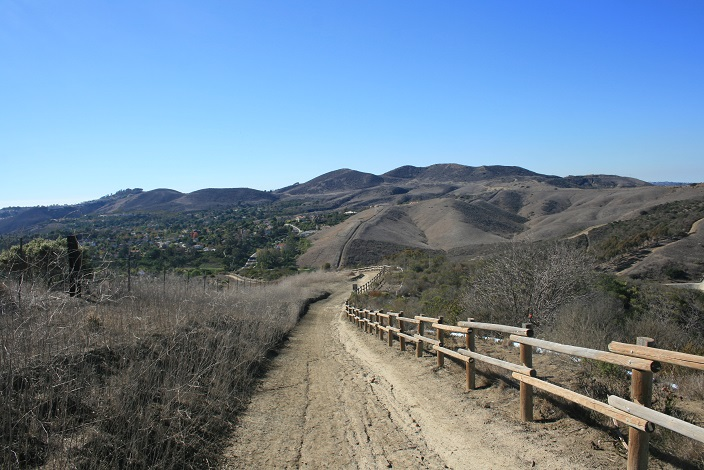 Looking west from the Forster Ridgeline Trail
