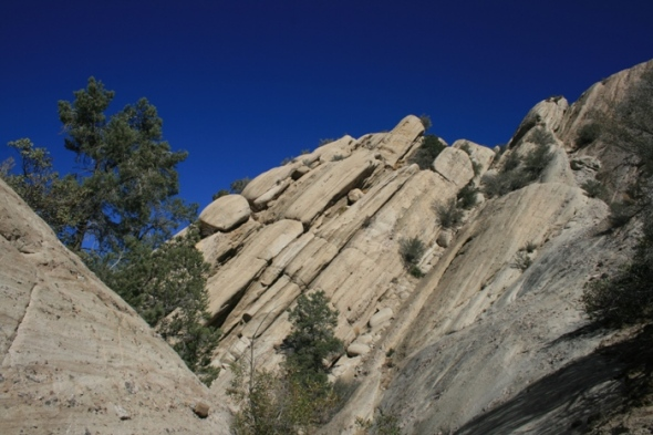 Geology in the Devil's Punchbowl