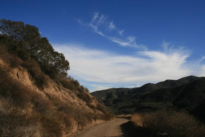 Skyline Drive, the route to Sierra Peak