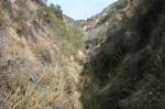 0:31 - Into the narrow canyon