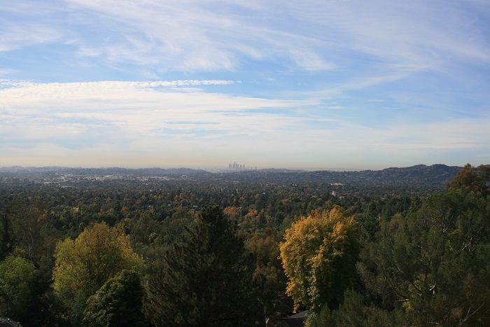 View of L.A. from the Altadena Crest Trail