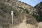 0:05 - Turnoff for the Altadena Crest Trail (times are approximate)