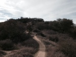 0:36 - Following a ridge near the top of the Coyote Trail