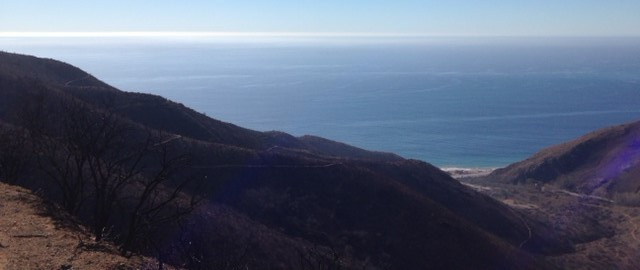 Ocean view from the Overlook Fire Road