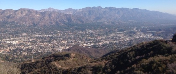 San Gabriels from the Verdugo Fire Road
