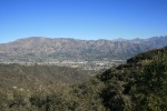 1:15 - Enjoying the view of the San Gabriels from the top of the loop