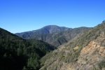 View of Santiago Peak from Trabuco Canyon Trail