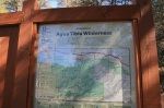 0:09 - Information board at the beginning of the trail (times are approximate)