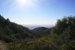 3:30 - Ocean view from the Palomar Magee trail; suggested turnaround point