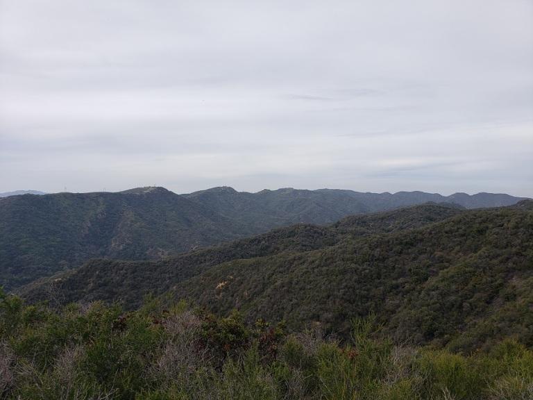 Goat Peak, Santa Monica Mountains, CA