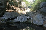 2:25 -  Stream crossing; be careful of the rocks