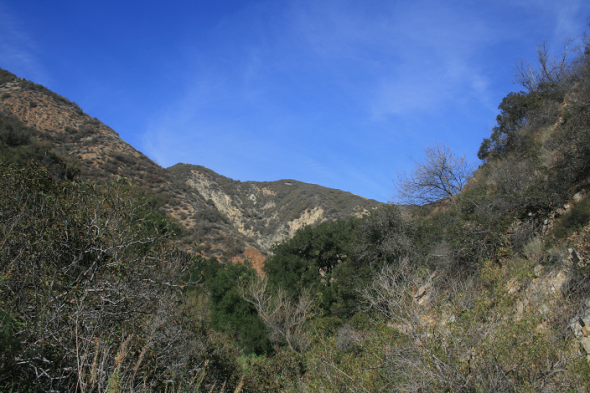 Hills above Tin Mine Canyon