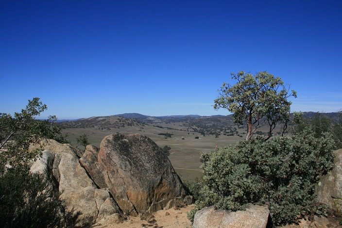 View from the top of the Inaja Memorial Trail