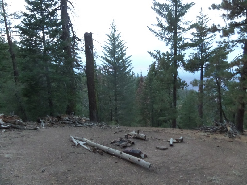 Raspberry Spring Trail Camp, Los Padres National Forest, CA