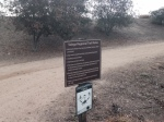 0:00 - Start of the hike, end of Cristianitos Road (click thumbnails to see the full sized versions)
