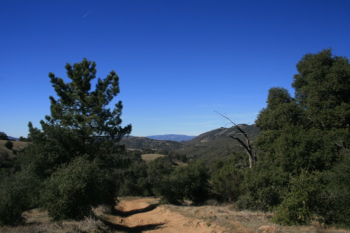 Looking west from the Kanaka Trail
