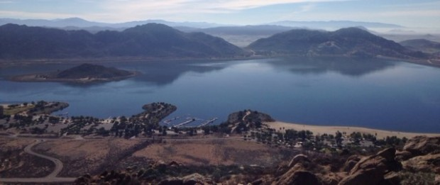 Lake Perris from Terri Peak