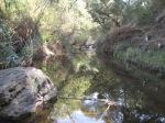 0:30 - Crossing the creek