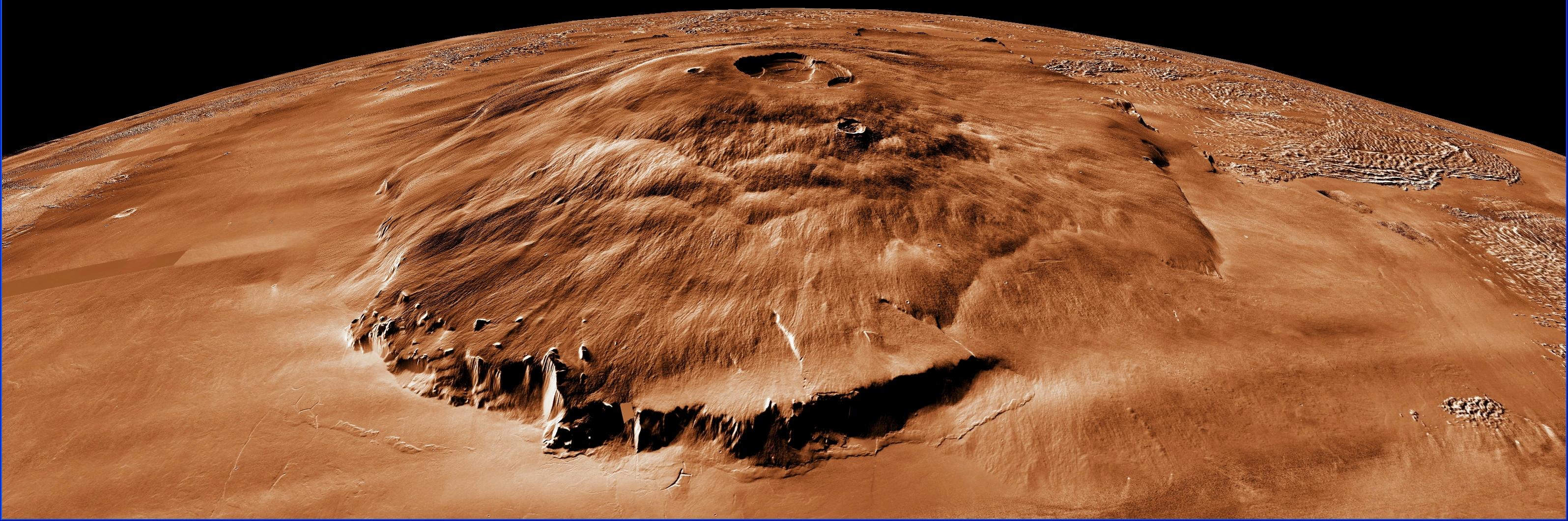 planet mars olympus mons - photo #9