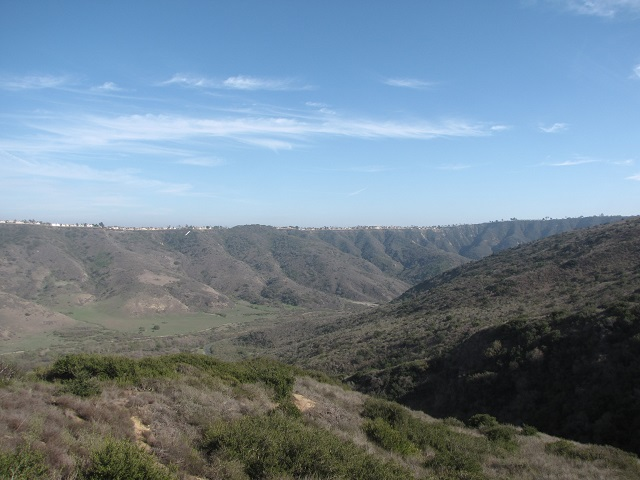 Looking east from the Mentally Sensitive Trail