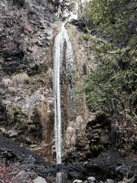 Falls Canyon Falls