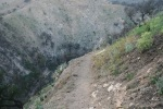 1:20 - Making the steep switchbacks back down into the canyon