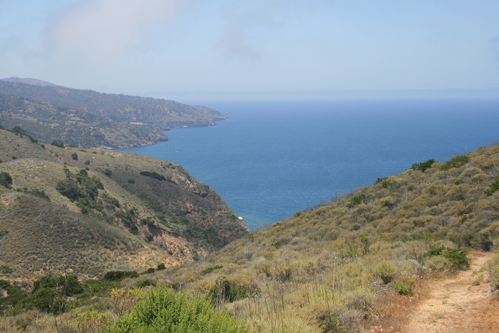 View of Prisoner's Harbor from near the Del Norte Campground