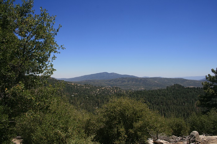 View of Garner Valley from the Summit Trail, Idyllwild County Park