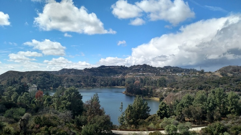 Hollywood Reservoir, Los Angeles, CA