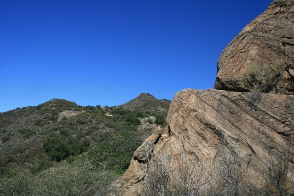 Geology on the Santa Cruz Trail