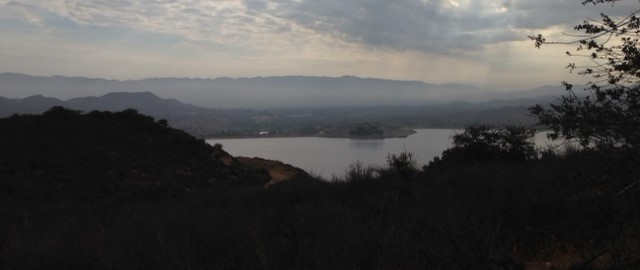 Morning view of Bard Lake, Sunset Hills/Woodridge Loop