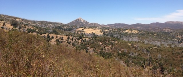Stonewall Peak as seen from Airplane Ridge