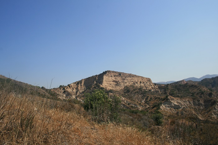 View of the geology above the Sinks