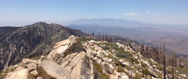 Looking west from Butler Peak