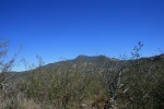 1:17 - Cuyamaca Peak from the top of the Saddleback Trail