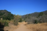 0:08 - Start of the Rice Canyon Trail (times are approximate)