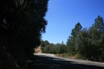 0:00 - Start of the hike, a quarter mile north on Highway 38 (click thumbnails to see the full sized versions)