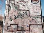 North Etiwanda Preserve map at the trail head