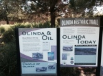 Olinda Oil Museum Trail beginning